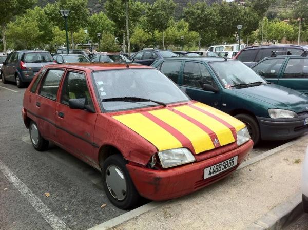 Cotxe a Cèret