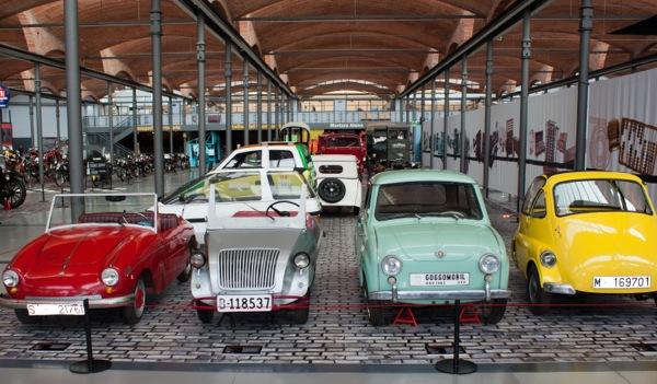 Evolució dels cotxes al mNACTEC