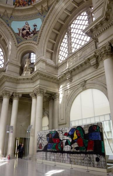 Miró a la cúpula del MNAC - Versión 2