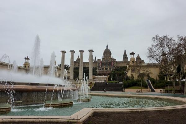Palau Nacional i Fonts de Montjuïc - Versión 2