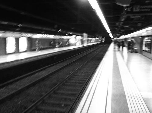 Estación de metro de La Sagrada Familia