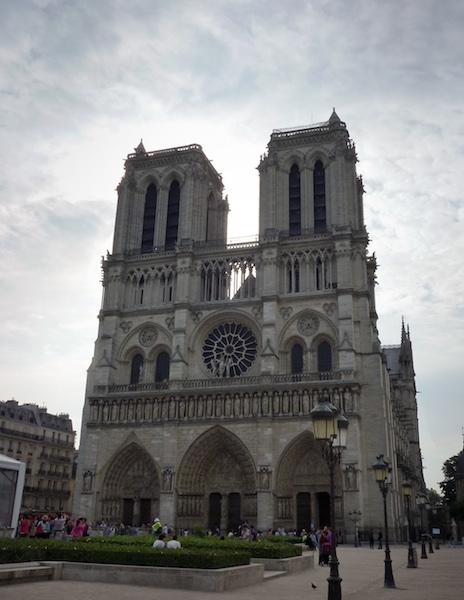 Notre Damme, París