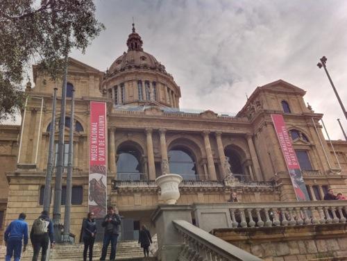 Palau Nacional de Montjuïc (HDR Fusion)