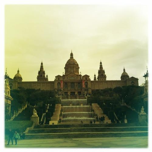 Palau Nacional de Montjuic (Hipstamatic)