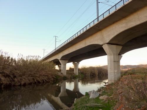 Puente sobre el Llobregat