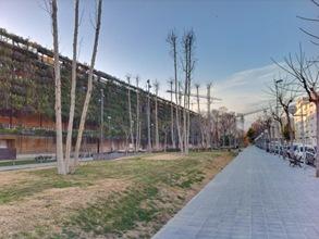 Jardín vertical La Tabacalera, Tarragona