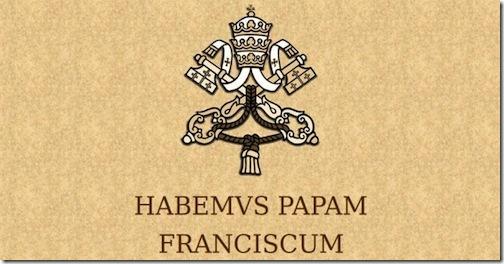 Habemus Papam Franciscum