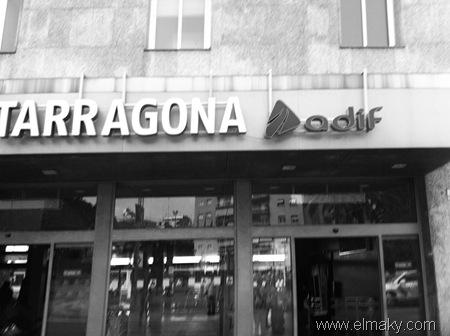 Vestíbulo de la estación de tren de Tarragona