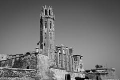La Seu Vella de Lleida (b/n)