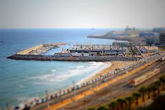 Port esportiu de Tarragona (tècnica tiltshift)